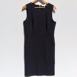 LOFT Black Sleeveless Sheath Dress Size 4